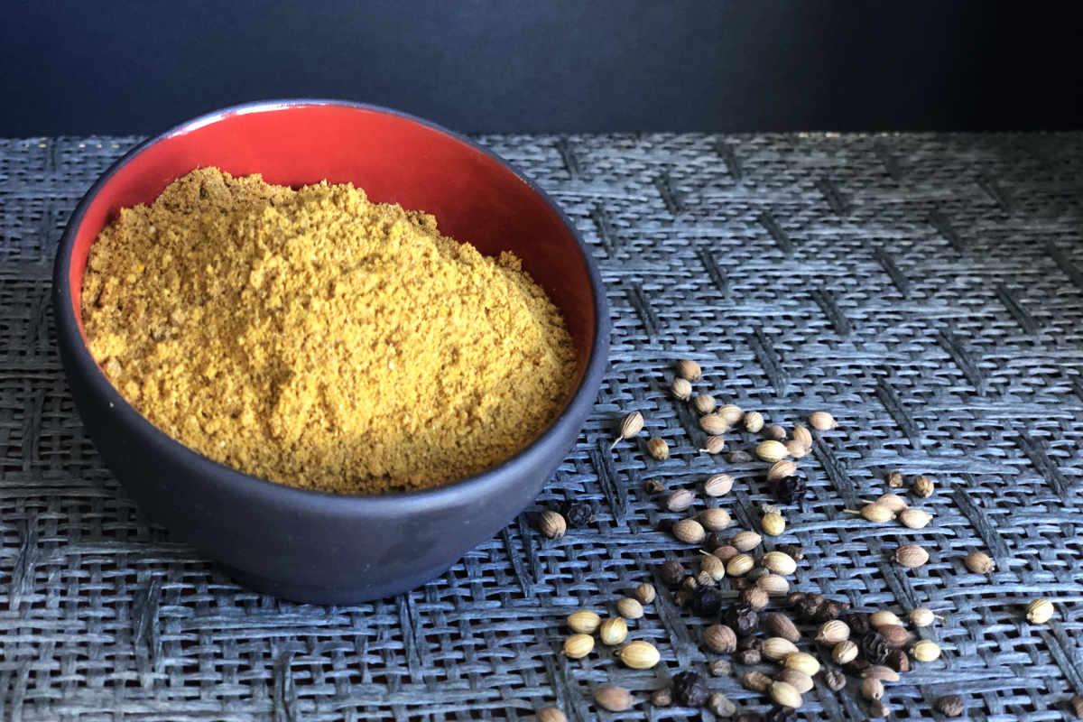 Fragrant Caribbean Curry Powder