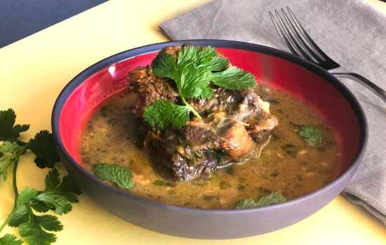 Caribbean Oxtail Curry from the Instant Pot™