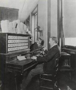 Hollerith electric tabulating machine, 1902. Library of Congress, Washington, DC.