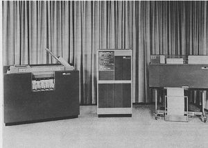 IBM 1401, first computer on which I worked