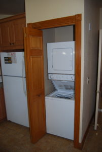 Grand Villa washer/dryer