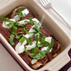 egg enchiladas with roasted pablano sauce