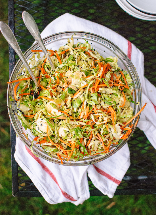 This mayo-free slaw is perfect for potlucks! - cookieandkate.com