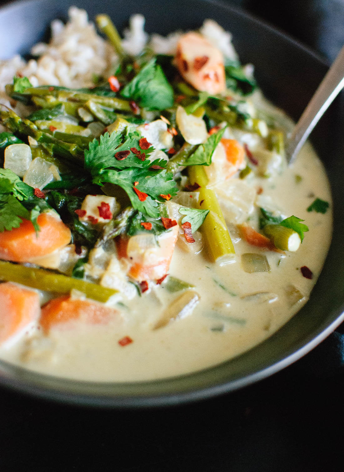 Thai Green Curry with Spring Vegetables  Cookie and Kate