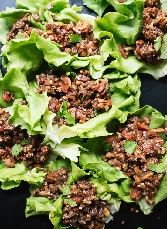 ThaiStyle Lettuce Wraps  Cookie and Kate