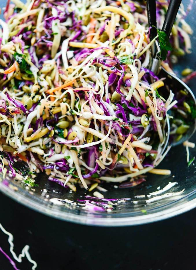 Simple Healthy Coleslaw Recipe - Cookie and Kate