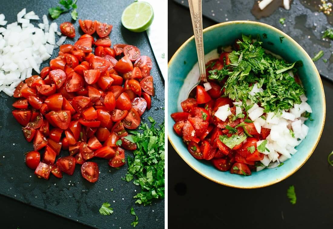ricetta texmex: pomodorini pico de galo
