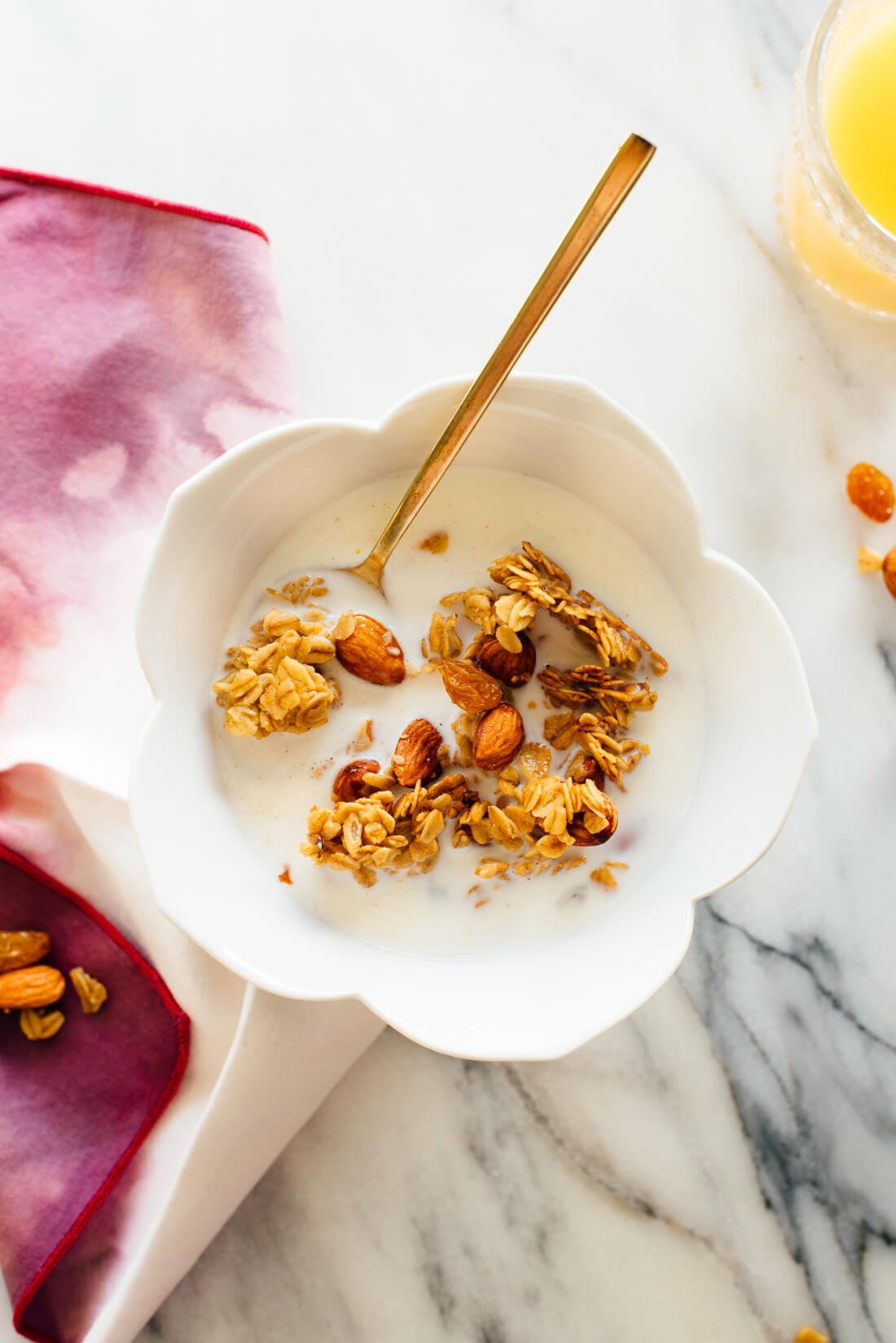 Orange Amp Almond Granola Recipe