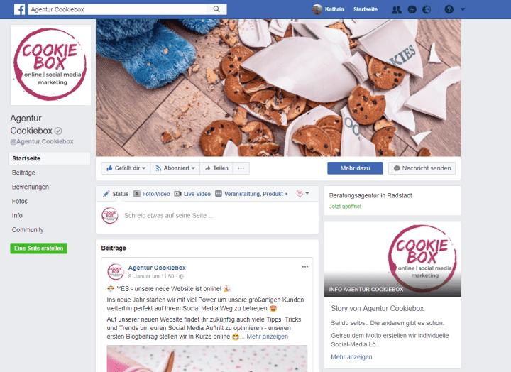 """Neuer """"About"""" Bereich für Facebook-Unternehmensseiten"""
