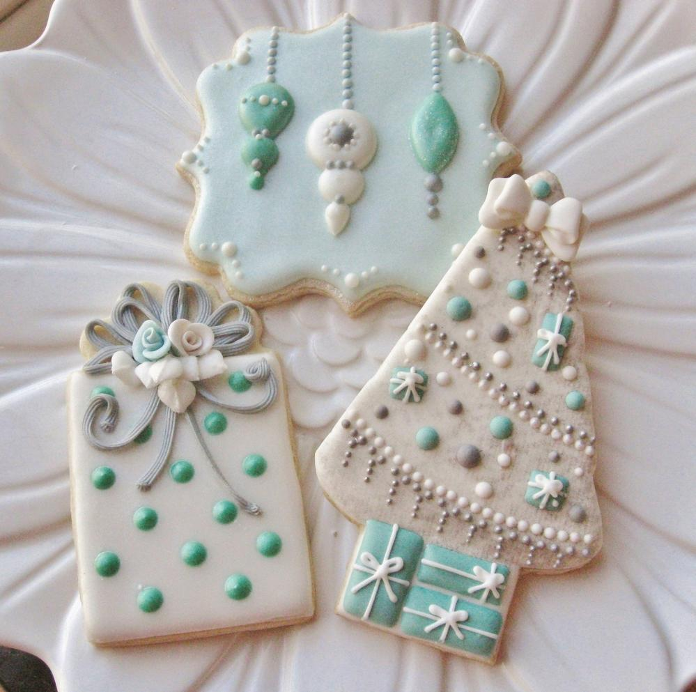Robins Egg Blue Christmas Cookie Connection