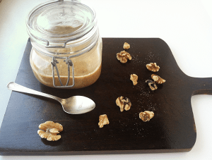 jar of homemade Walnut Butter