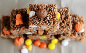 Fall Chocolate Rice Crispies