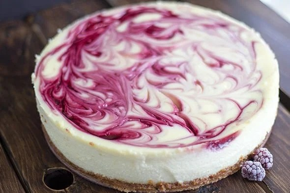 Swirled Blackberry Cheese