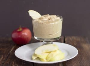 {3 Ingredient} Maple Walnut Apple Dip
