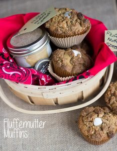 Fluffernutter Muffins and Spread
