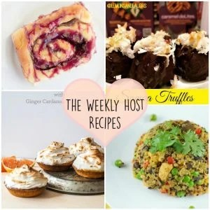 Sunday's Recipe Wrap-up Host Recipes
