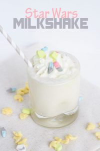 Star Wars Cereal Milkshake