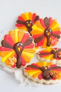 Fun and Festive Thanksgiving Turkey Cookies