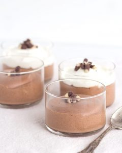Baileys Chocolate Mousse - rich and boozy chocolate mousse