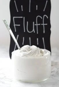 jar of Homemade Marshmallow Fluff