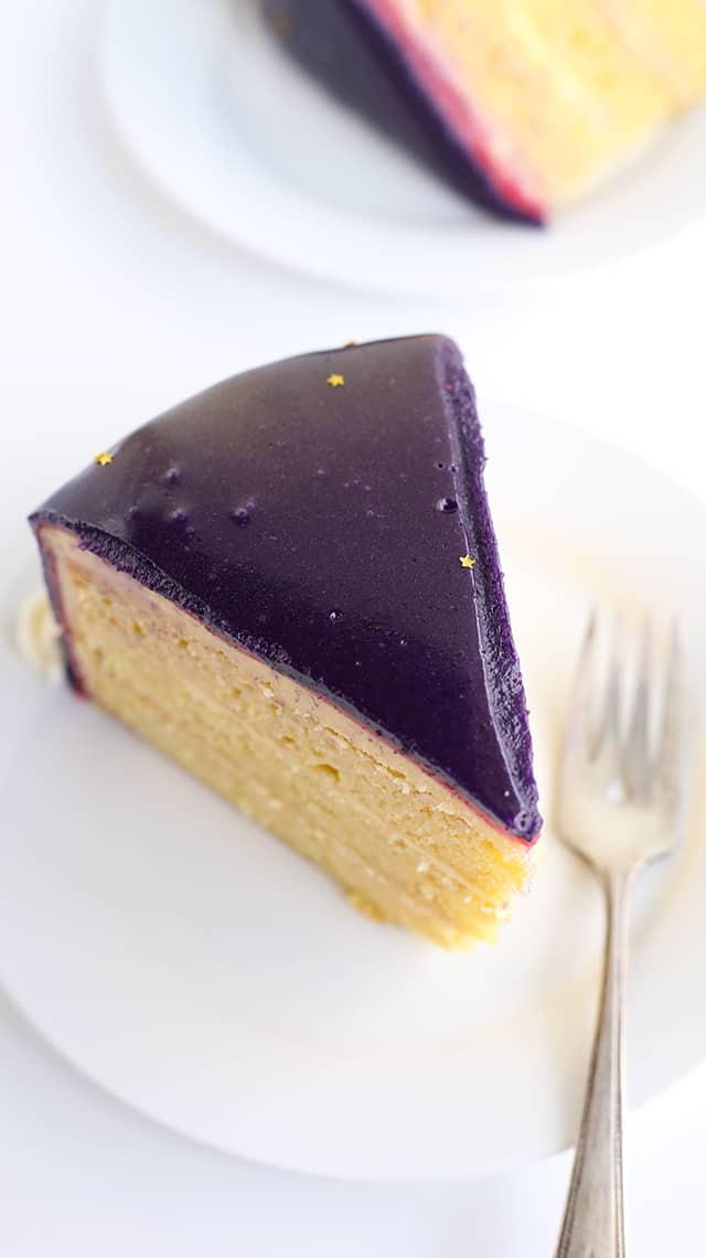 slice of Jell-o Mirror Cake