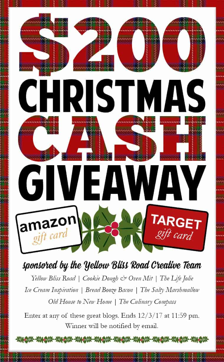 $200 Christmas Cash Giveaway