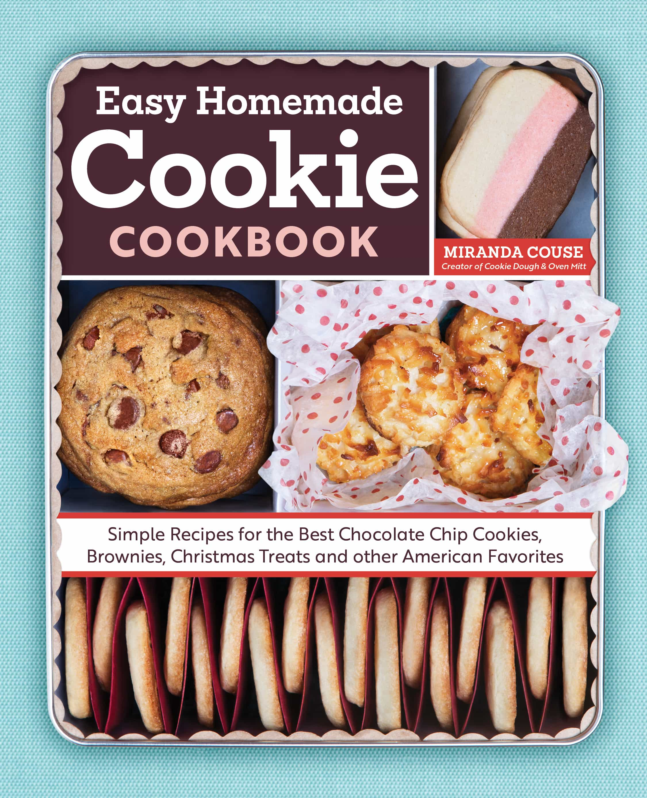 Easy Homemade Cookie Cookbook - It's packed full of 160 cookie and bar recipes