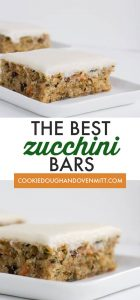 The Best Zucchini Bars Recipe Cookie Dough And Oven Mitt