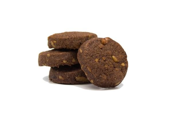 Coffee & Walnut Chocolate Cookies