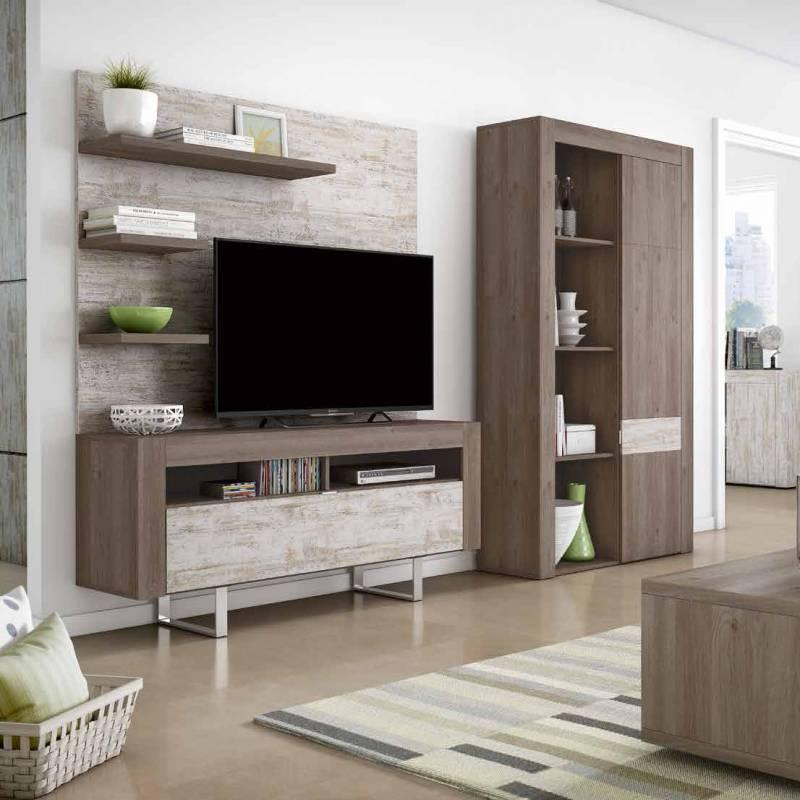 Mueble Tv con Patas Metlicas Colores Combinables  Dekosular Decoracin