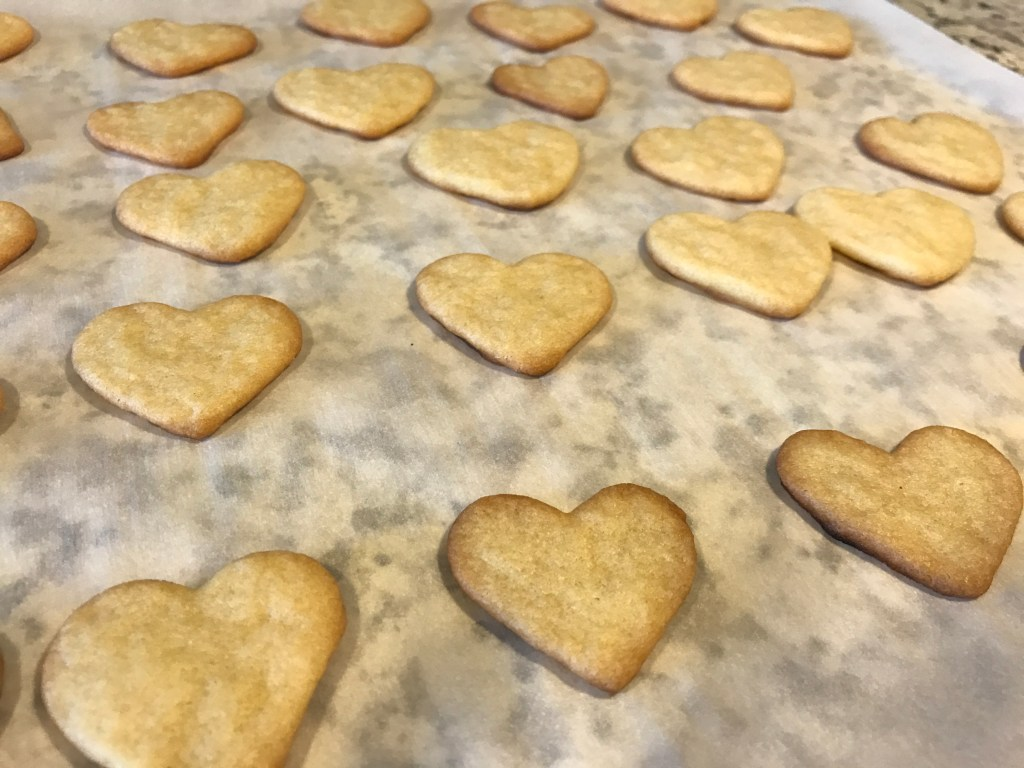 Frosted Mini Heart Sugar Cookies Cookies Amp Calligraphy