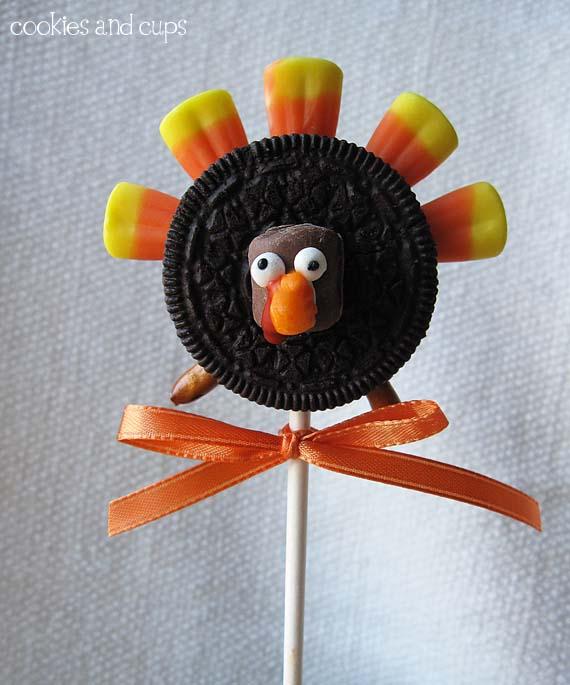 Gobble Gobble Oreo Turkeys