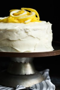 Lemonade Cake With Lemon Cream Cheese Frosting Cookies And Cups