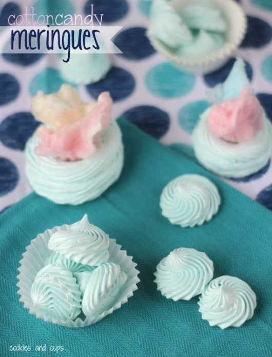 Meringue Candy Canes and Christmas Dessert - Hoosier Homemade