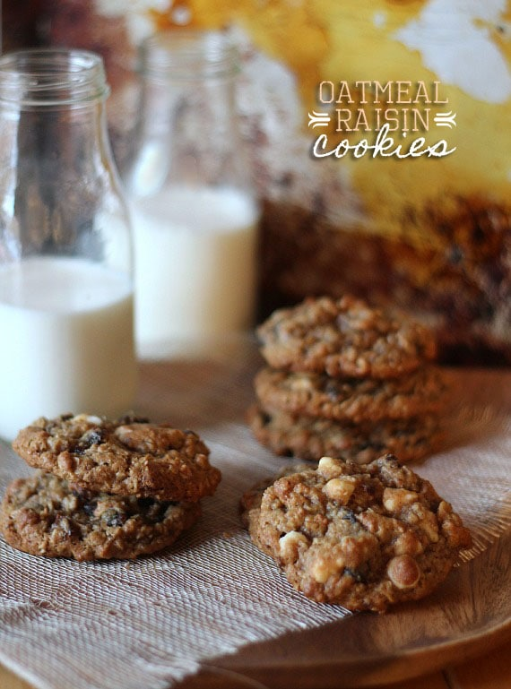 The Best Oatmeal Raisin Cookies | Cookies and Cups