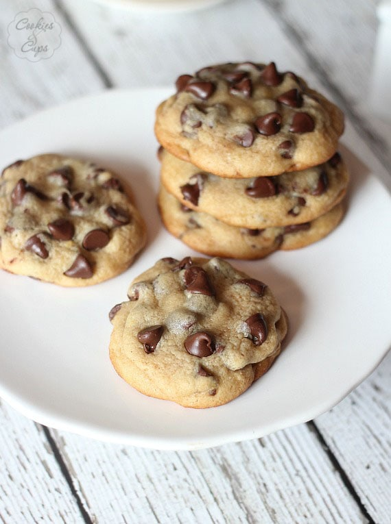 Soft Malted Chocolate Chip Cookies