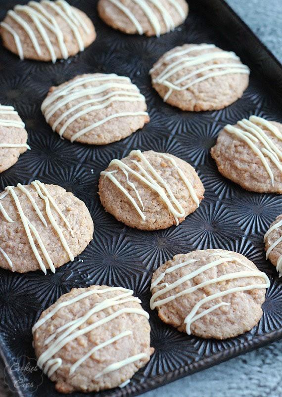 Cinnamon Toast Crunch Cookies | www.cookiesandcups.com