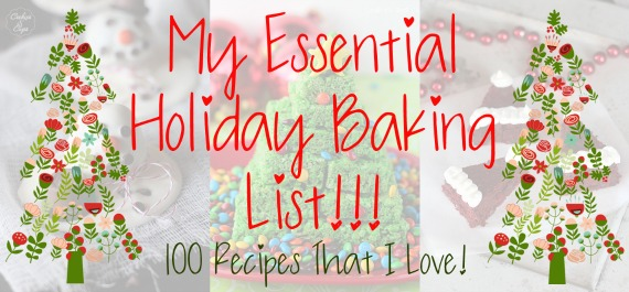 My Essential Holiday Baking List | www.cookiesandcups.com