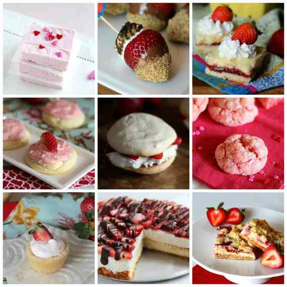 25 Sweet Treats For Your Valentine! www.cookiesandcups.com