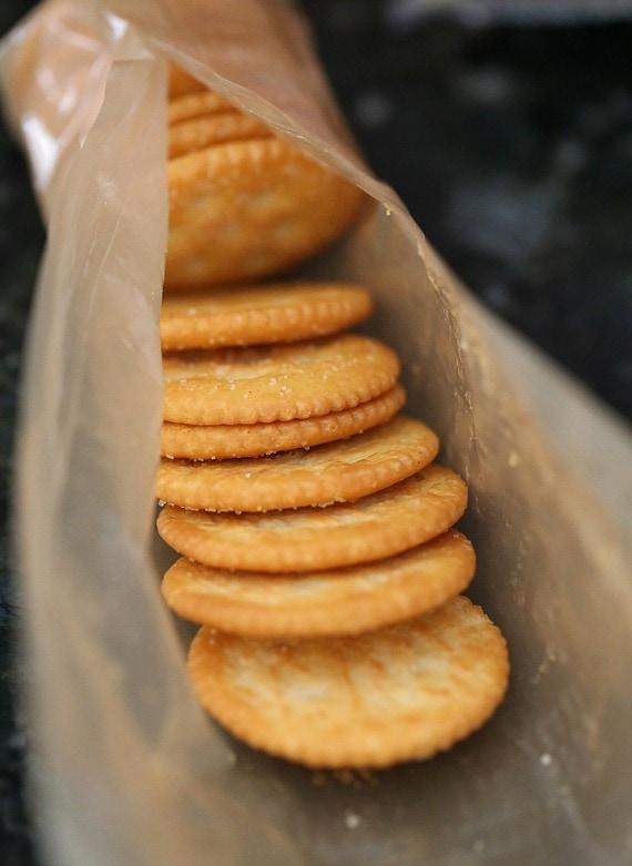 White Chocolate Chips And Graham Crackers