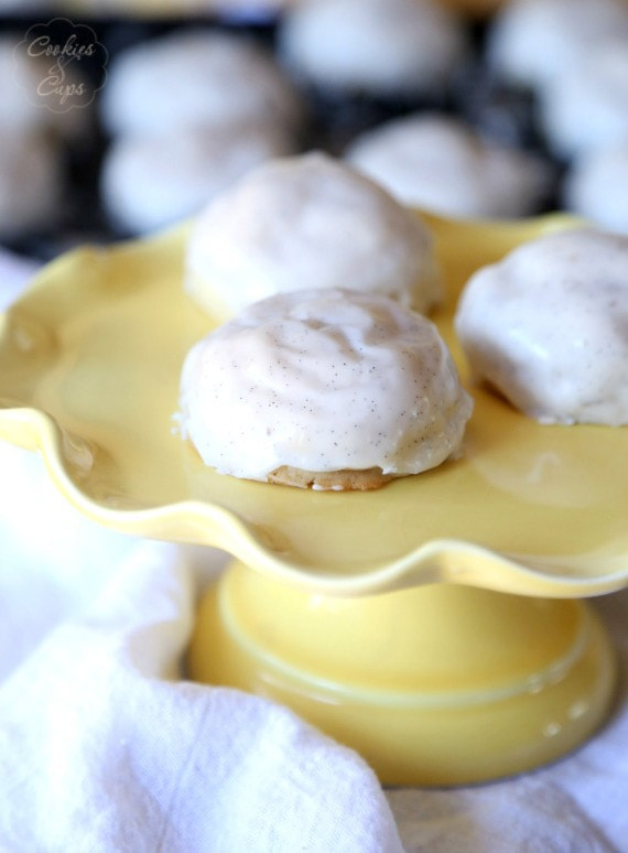 Southern Tea Cake...perfectly soft, thick cookies that are dense and buttery and delicious!