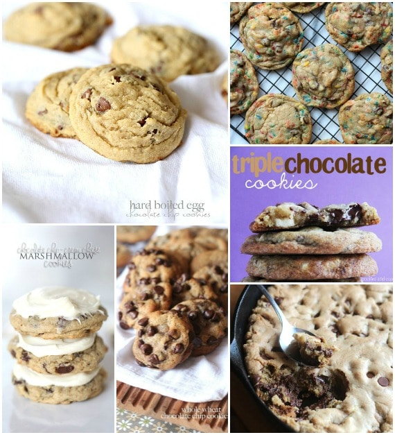 TONS of Chocolate Chip Cookie Recipes