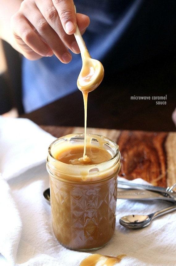 Microwave Caramel Sauce
