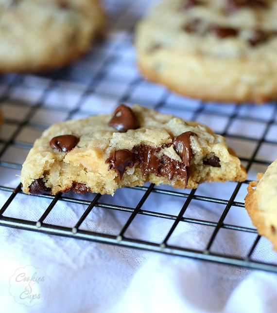 Super Soft Coconut Chocolate Chip Cookies