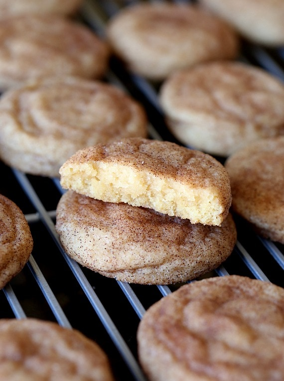 Truly thr BEST Snickerdoodle Cookie I have ever eaten! SO soft and buttery, loaded with cinnamon and the recipe is so easy!!