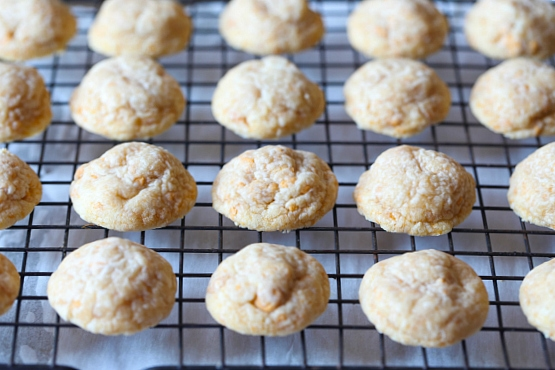 These Glazed Butter Pecan Cookies are a melty shortbread cookie with fun secret ingredient!