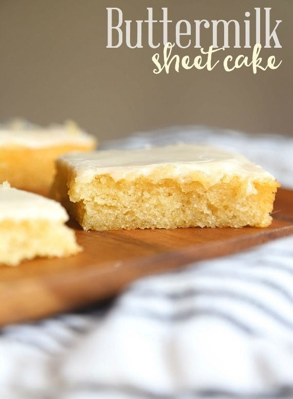 Recipes for texas sheet cake with buttermilk