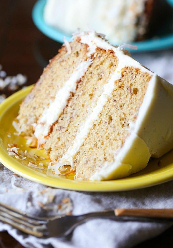 Cookbook Best Ever Banana Cake With Cream Cheese