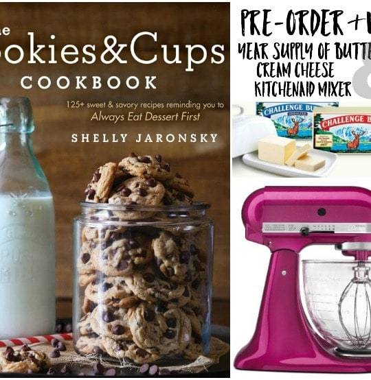 The Cookies & Cups Cookbook Giveaway