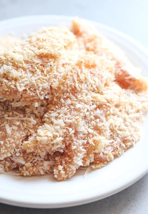 Crispy Coconut Chicken Strips